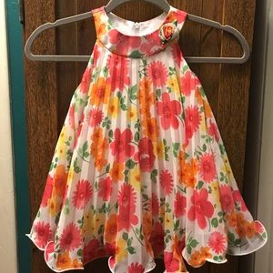 American Princess party pleated spring dress